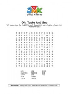 Word Search Psalm 34 8 Oh Taste And See 425x550 (1)